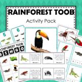 Safari Toob Rainforest Preschool Kindergarten Learning Pack