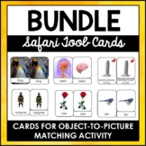 Safari TOOB and Toy-Matching 3-Part Cards Growing Bundle |