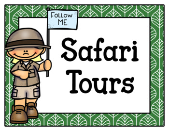 Safari Tours Dramatic Play