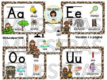 Safari - Vocales (Spanish Vowels)