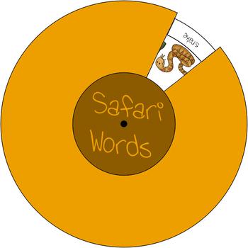 Safari Wheel - Add on Game Safari Flashcards #1