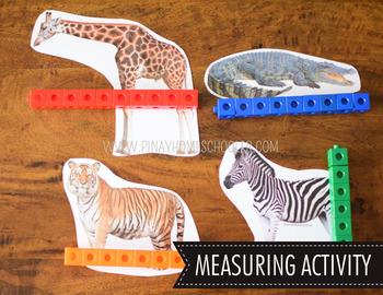 Safari Toob Wild Animals Preschool Kindergarten Learning Pack