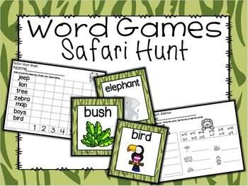 Safari Word Hunt