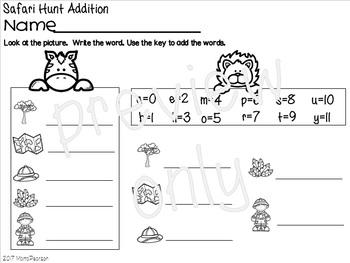 Safari Word Hunt