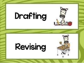 Safari Writing Process Chart
