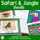 Safari and Jungle Activities Fun Bundle