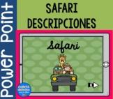 Safari, descripciones |PowerPoint | Spanish Resources