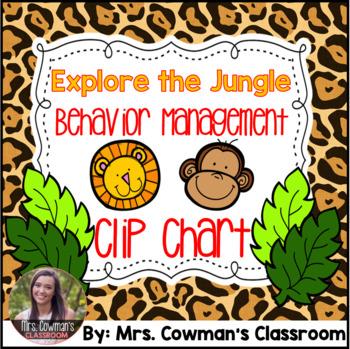 Safari or Jungle Clip Chart MegaPack