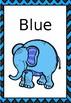 Safari theme Colour Chart