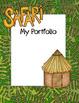 Safari / Jungle theme - Student Portfolio Bundle