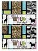 Safari theme bag label