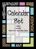 Safari theme calendar pack