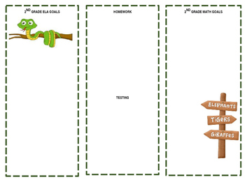 Safari themed Brochure