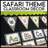 Safari themed classroom