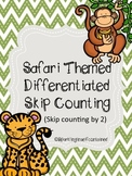 Safari themed skip counting by 2