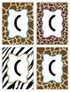 Safari/JUNGLE Letters