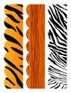 Safari/Jungle Bulletin Board Border - Scalloped