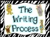 Safari/Jungle Writing Process Poster