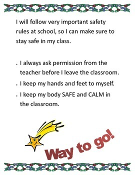 Safe Behavior at School
