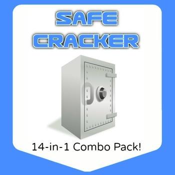 Safe Cracker - 14 topic bundle - 48 pages!
