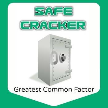 Safe Cracker - GCF Greatest Common Factor - Math Fun!