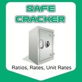 Safe Cracker - Unit Rate - Rates, Ratios, Math Fun!
