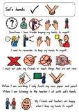 Safe Hands social story