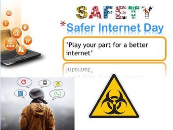 Safe Internet day e-safe day presentation