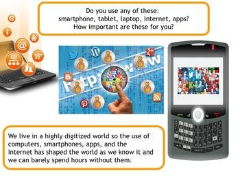 Safe Internet day e-safe day presentation freebie