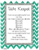 Safe Keeper Banner and Song-Conscious Discipline!!!