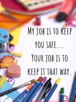 Safe Keeper Poster Conscious Discipline
