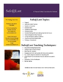 Safe@Last: Primary Prevention Curriculum for Sexual Assault
