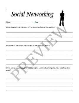 Safe Social Networking Lesson