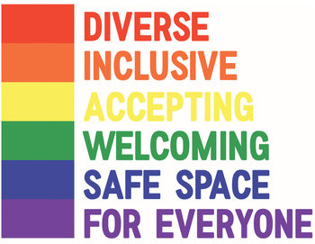 Safe Space Classroom Sign