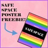 Safe Space LGBT+ Poster for Your Classroom