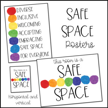 Safe Space Posters