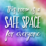 Safe Space Sign/Decal