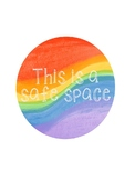 Safe Space Sign and Graphic