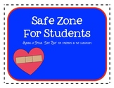 Safe Zone in the Classroom