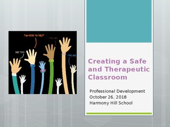 Safe and Therapeutic Professional Development PPT