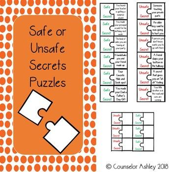 Safe or Unsafe Secrets Puzzles