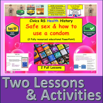 Safe sex and how to use a condom - Relationships Education (SRE STI STD)