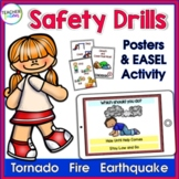 Fire Safety | Safety Procedures | Earthquake Safety | Tornado Drill | POSTERS