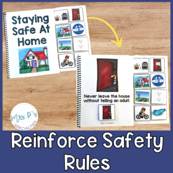 Safety Awareness Interactive Books