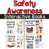Safety Awareness Interactive Books - Adapted Books For Special Education