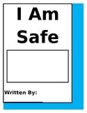 Safety Book, Kindergarten Beginning of the Year, Writing P