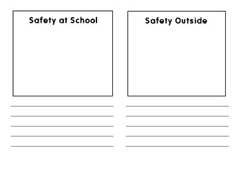 Safety Brochure-Social Studies