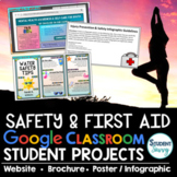 Safety | CPR | First Aid | Health Projects Google Classroom