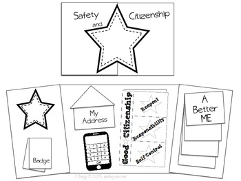 SOCIAL STUDIES: Safety & Citizenship Lapbook