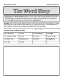 Safety Colors and Wood Shop Diagram
